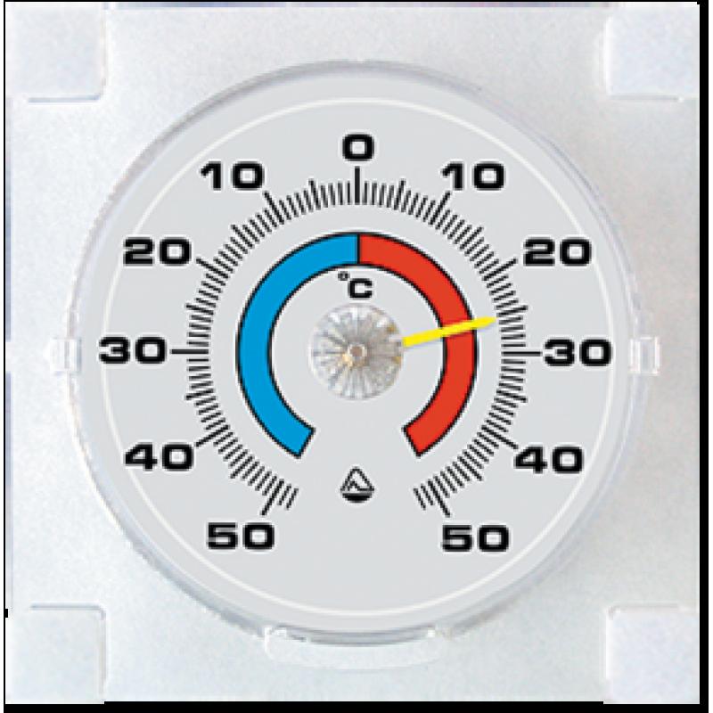 Термометр оконный на липучке для пластиковых рам